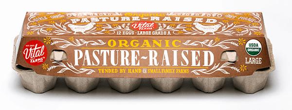 Pasture-Raised Organic Eggs 12 Ct Large Carton