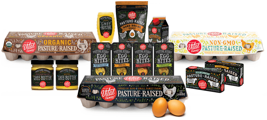 All the Vital Farms products