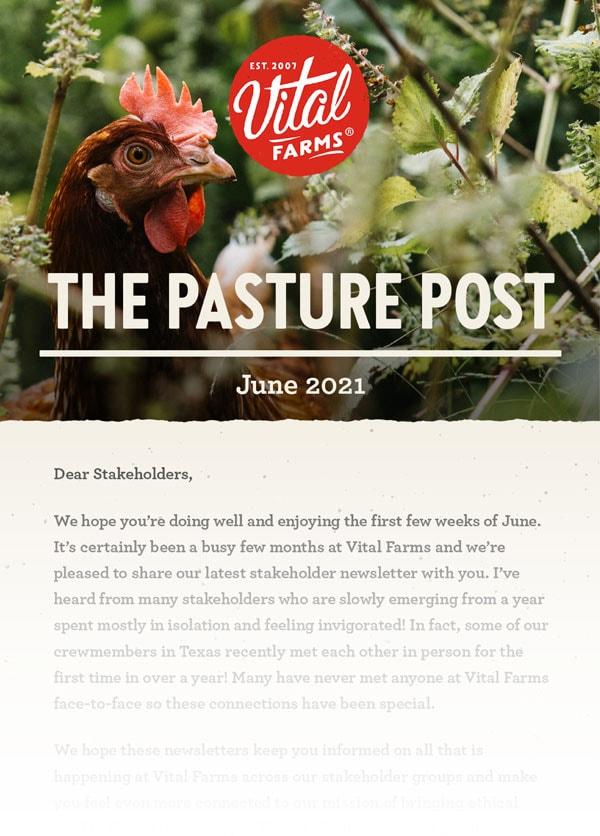 Pasture Post June 2021 issue